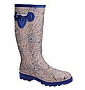 Joe Browns Printed Welly E Fit