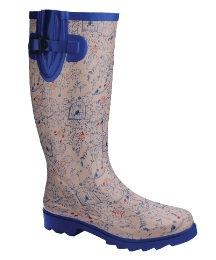 Joe Browns Printed Welly EEE Fit