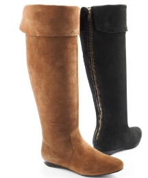 Grazia Zip Up Over The Knee Boot E Fit