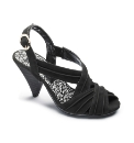 Viva La Diva Pleated Sandal E Fit