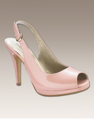 Bespoke Peep Toe Platform Shoes EEE Fit
