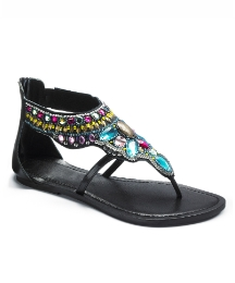 Emotion Jewelled Sandal E Fit