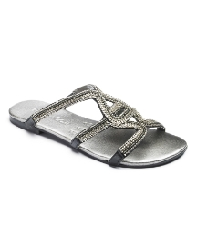 Isabella Cole Beaded Mule Sandal EEE Fit