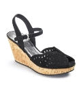 Jeffrey & Paula Cut Out Wedge E Fit