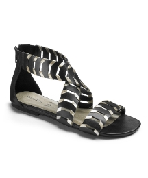Angel Ribbons Cut Out Sandal E Fit