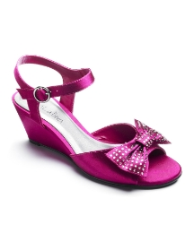 Viva La Diva Diamante Trim Wedge EEE Fit