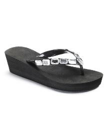 Viva La Diva Wedge Flip Flop E Fitting