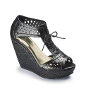 Angel Ribbons Cut Out Wedge E Fit