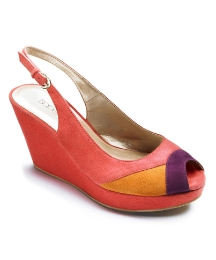 Isabella Cole Colour Block Wedges D Fit