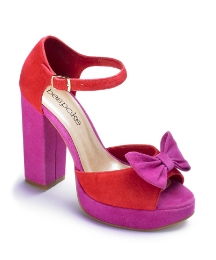 Bespoke Bow Platform Shoes E Fit