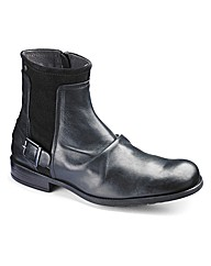 Base London Buckle Boots