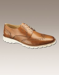 Hamnett Gold Lace Up Shoes