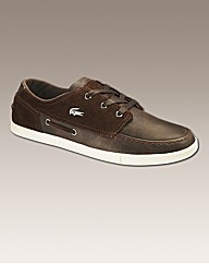 Lacoste Lace Up Boat Shoes