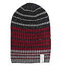 Firetrap Striped Beanie Hat