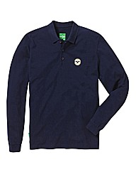 Le Breve Lee Long Sleeve Polo
