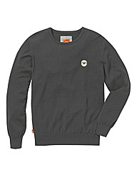 Le Breve Knitted Crew Neck Jumper