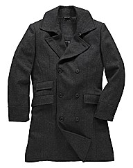 Jacamo Double Breasted Trench Coat
