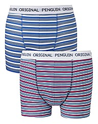 Penguin Pack of 2 Print Boxers