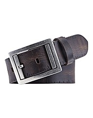 Souled Out Distressed Leather Belt