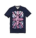 Jacamo Union Jack Tshirt Long