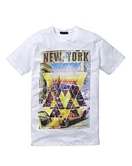 Label J NY Geo T-Shirt Long