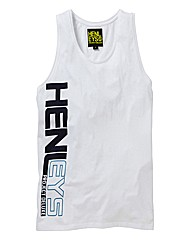Henleys Graphic Print Vest Regular
