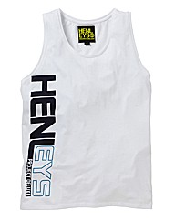 Henleys Graphic Vest Long
