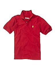 Jacamo Embroidered Polo Shirt Regular
