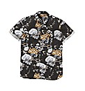 Label J Floral Print SS Shirt r