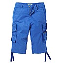 Jacamo Blue 3/4 Cargo Pants