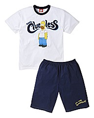 The Simpsons Clueless PJ Set