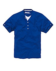 Jacamo Blue Layered T-Shirt Regular