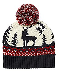 Label J Rudolph Hat