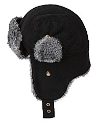 Label J Logan Plain Trapper Hat