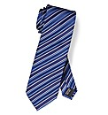 Black Label By Jacamo Stripe Tie