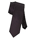 Black Label By Jacamo Square Tie