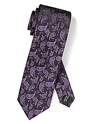 Black Label By Jacamo Paisley Tie