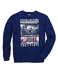 Label J Santa Cruz Print Sweatshirt L