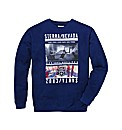 Label J Santa Cruz Print Sweatshirt R