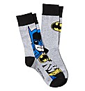 Batman Pack of 2 Socks