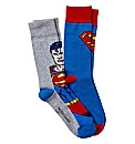 Superman Pack of 2 Socks
