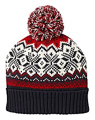 Label J Fairisle Hat