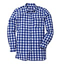 Jacamo Blue L/S Western Shirt Long