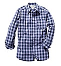 Jacamo Lilac Western Shirt Regular