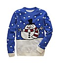 Label J Snowman Knit Jumper
