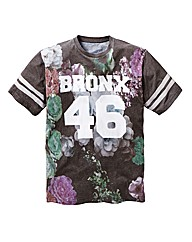Label J Bronx Floral T-Shirt Long