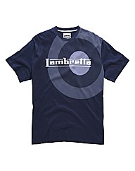 Lambretta Oversized Target T-Shirt Reg