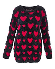 Lovedrobe Heart Jumper