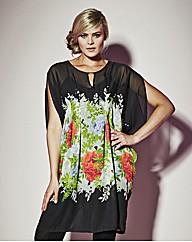 Grazia Kaftan Print Tunic Top