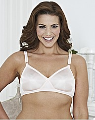 Shapely Figures White Pack of 4 Bras